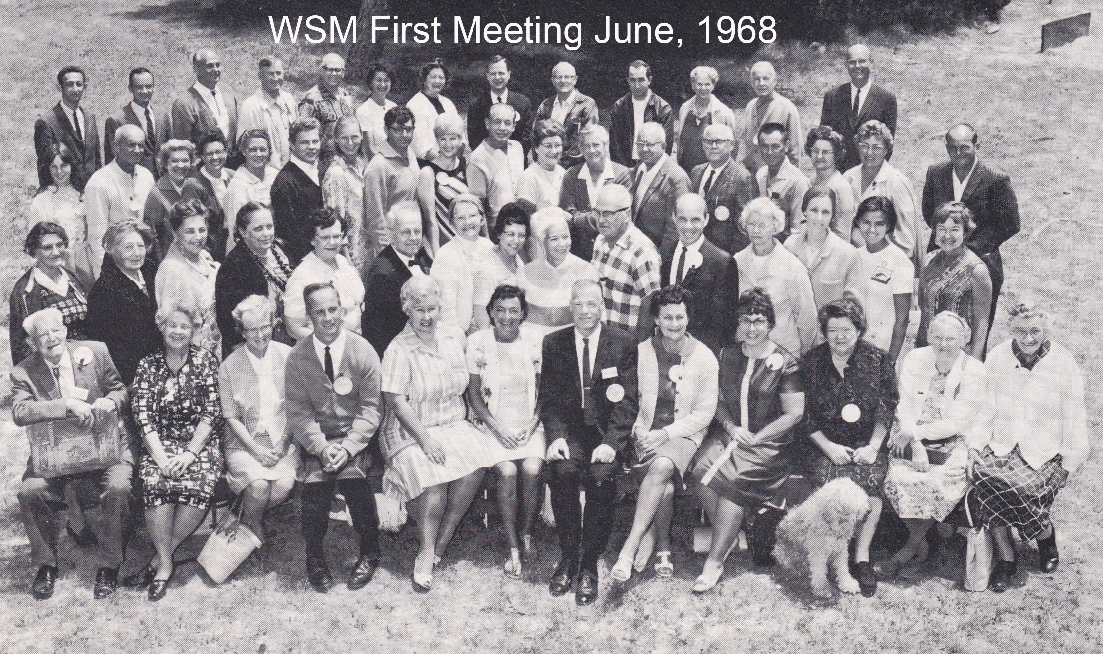 Group Photo WSM June 1968 First Annual Meeting The Echo 1 p16